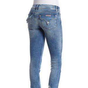 HUDSON Collin Skinny Ankle Destroyed Hem Jeans